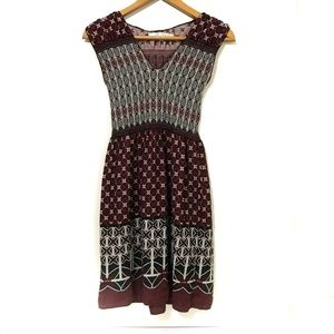Max Studio Maroon Dress